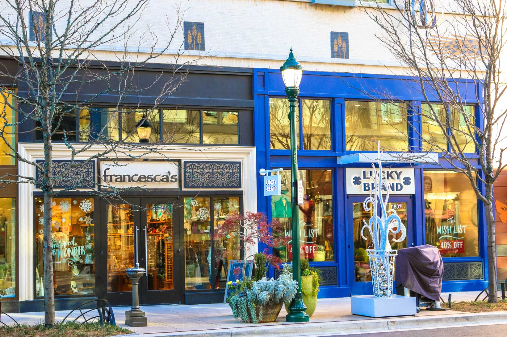 Francesca's and Lucky Brand in North Bethesda, MD