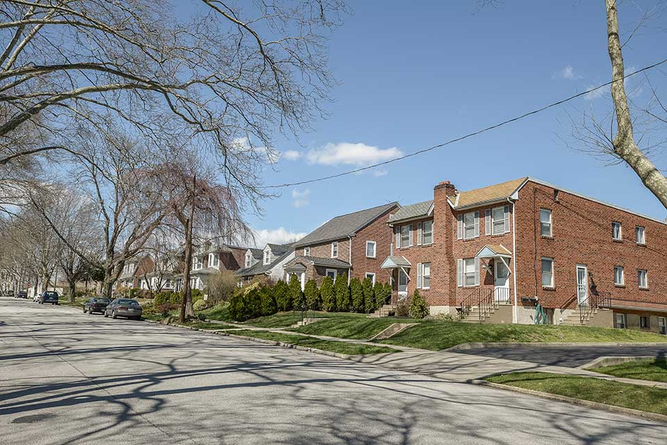 Duplex and single family homes in Conshohocken, PA