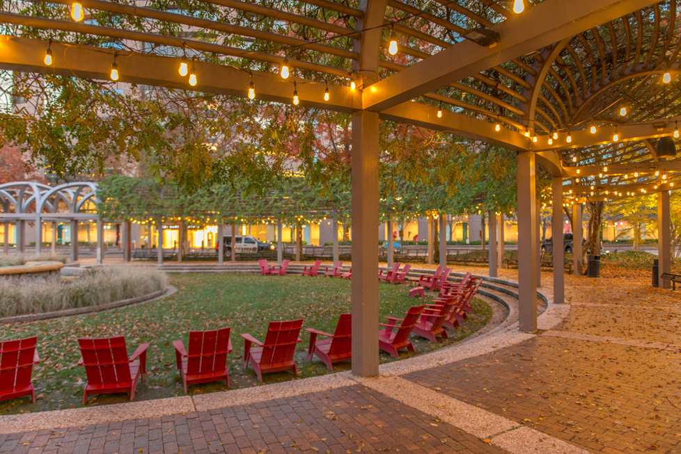 Outdoor entertaining areas in Parks in National Landing, Va