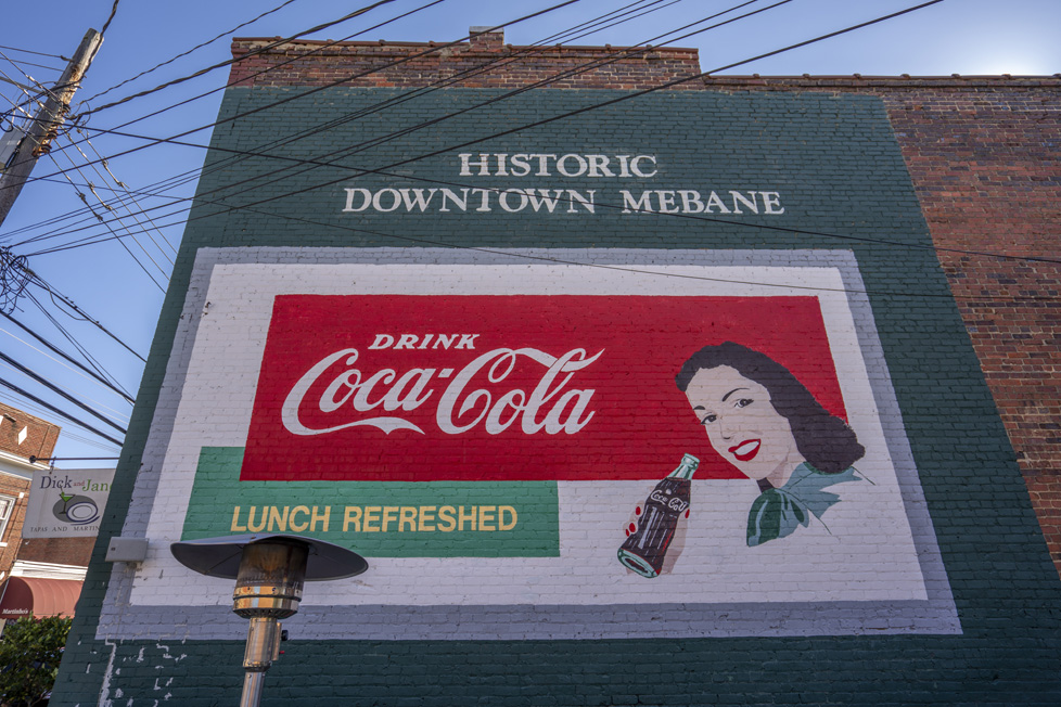 Mebane, NC Coca-Cola Sign
