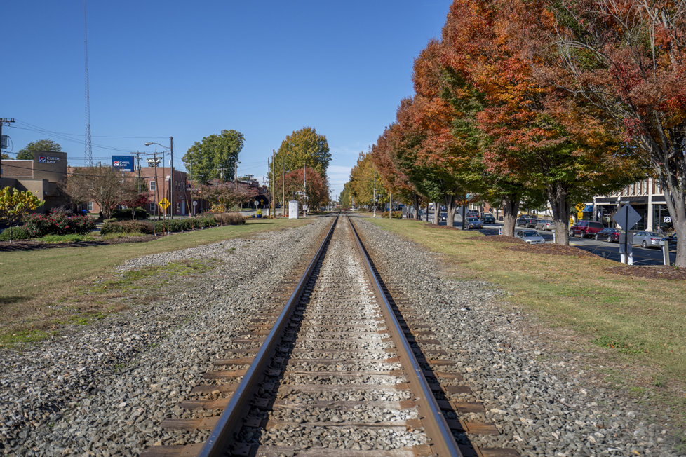 Mebane, NC Train Tracks