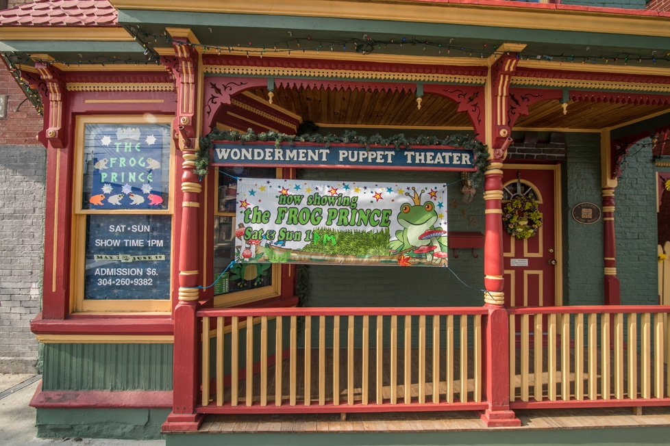 wonderment puppet theater martinsburg wv