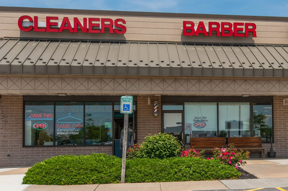 cleaners barber aberdeen md