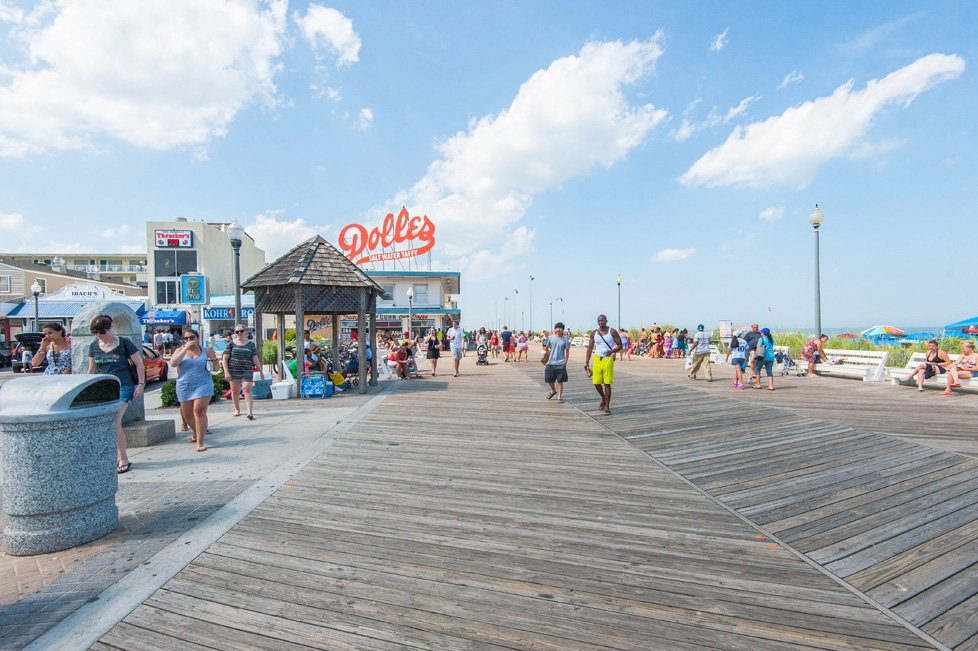 boardwalk in rehoboth beach de