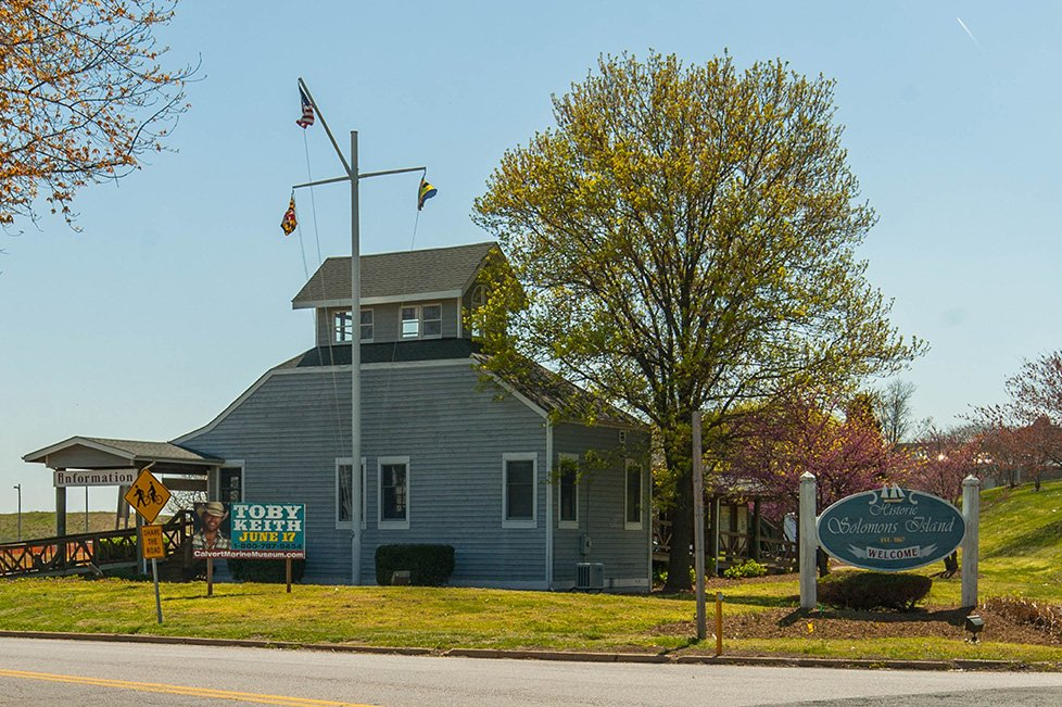 solomons island md welcome center
