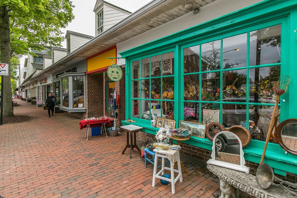 shops in easton md