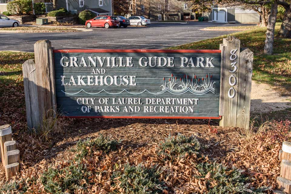 Granville Gude Park and Lakehouse in Laurel, Md