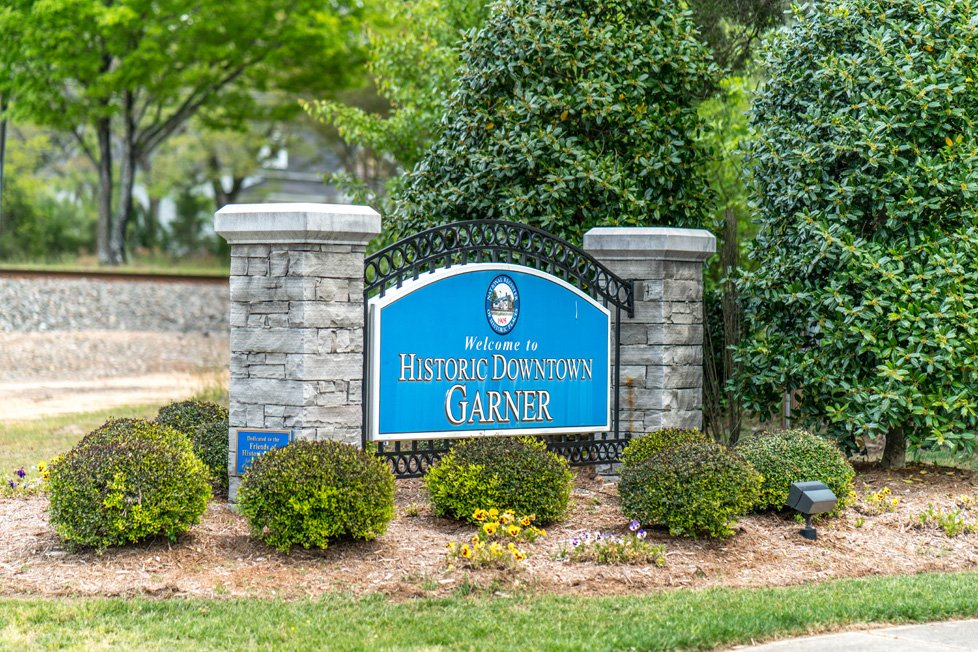 Historic Downtown Garner Nc Sign