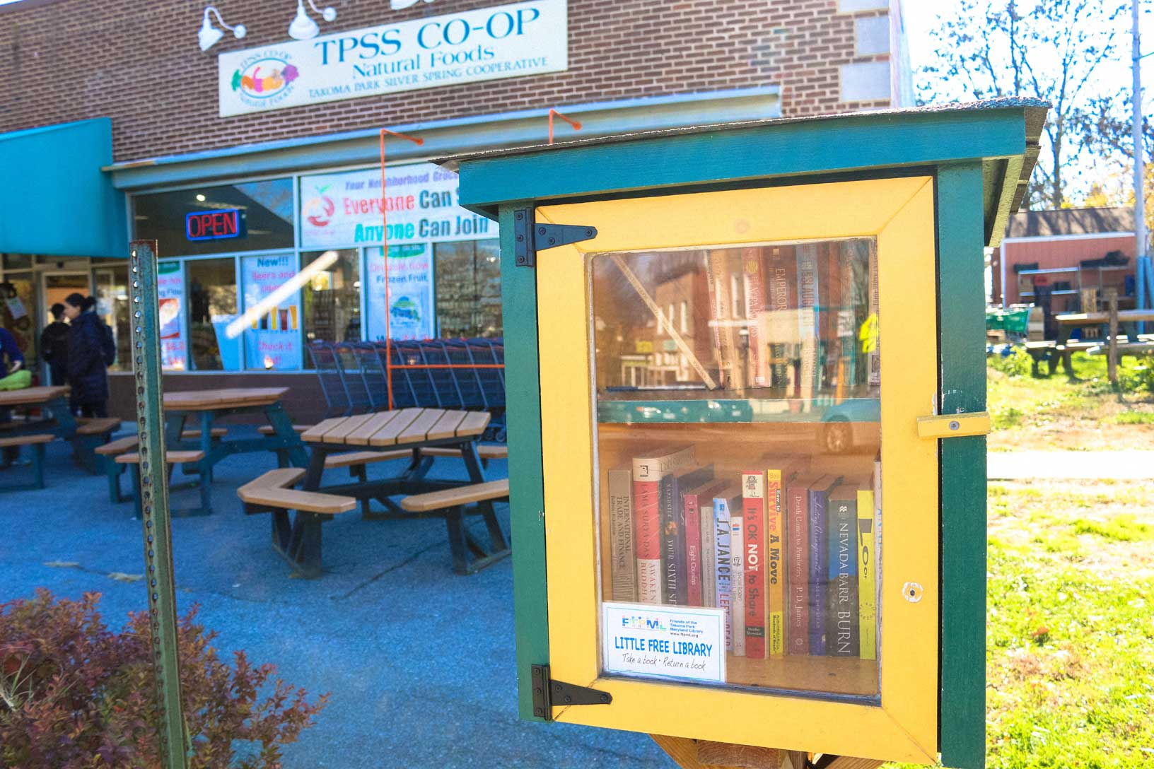 Little Free Library in Takoma Park, MD