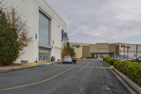 Town mall stores in Westminster, MD
