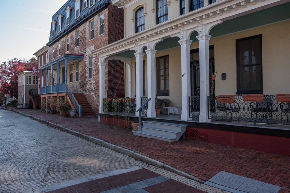Historic buildings in Annapolis, MD