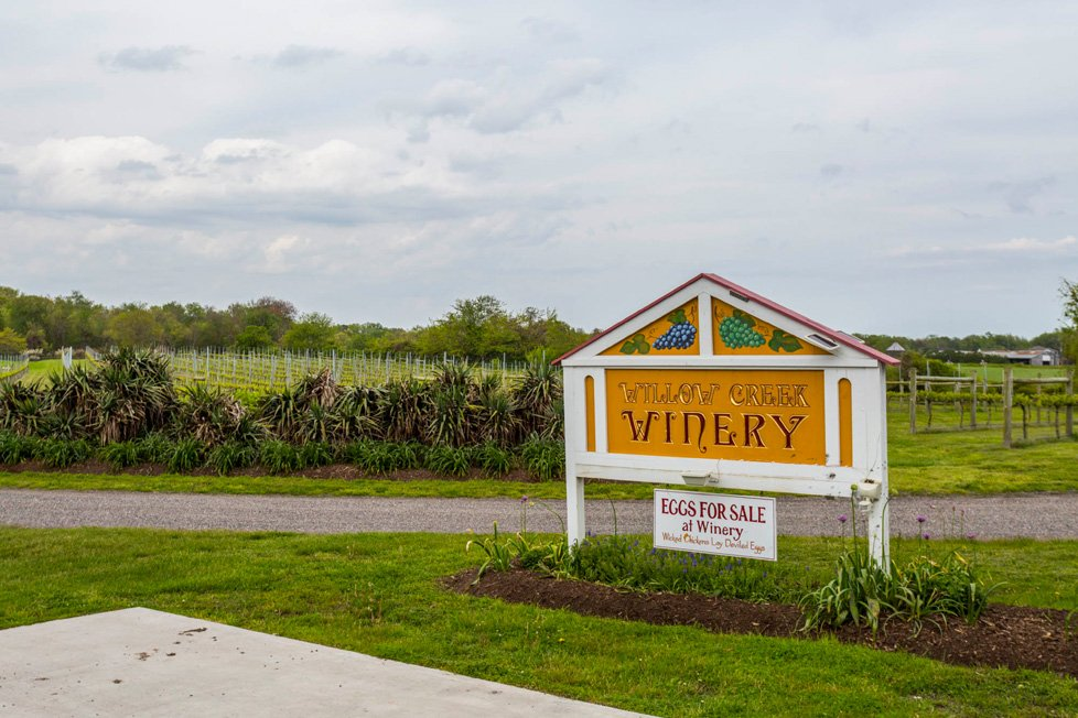 willow creek winery cape may nj