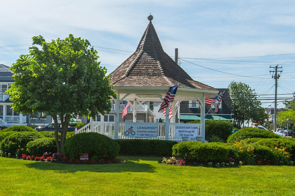 gazebo longport nj