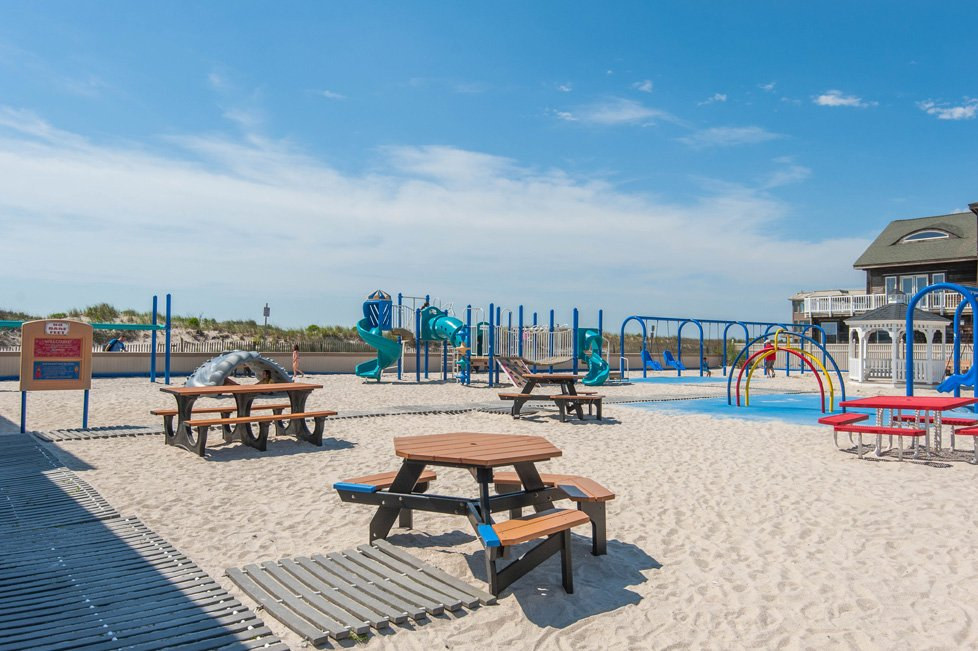 beach playground longport nj