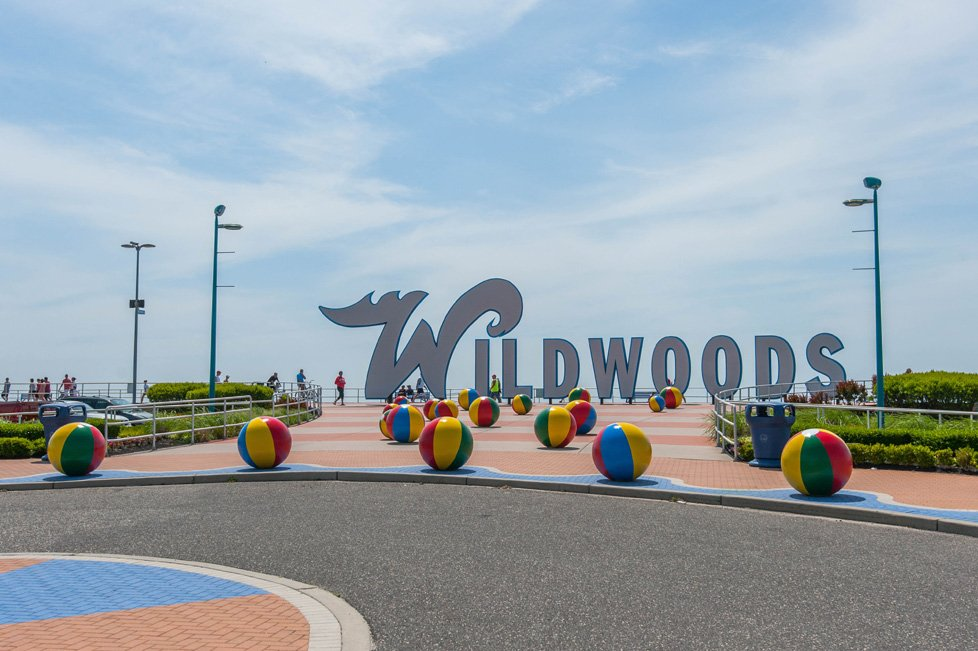 wildwoods sign in wildwood nj