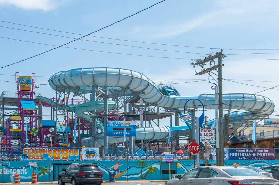 splash park in wildwood nj