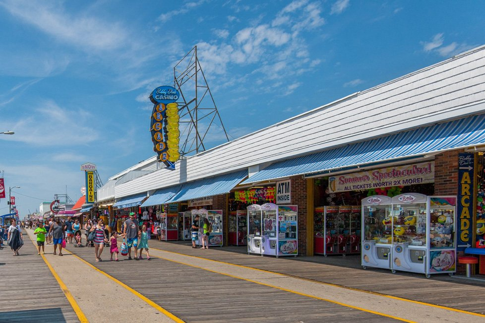 arcade on wildwood nj boardwalk