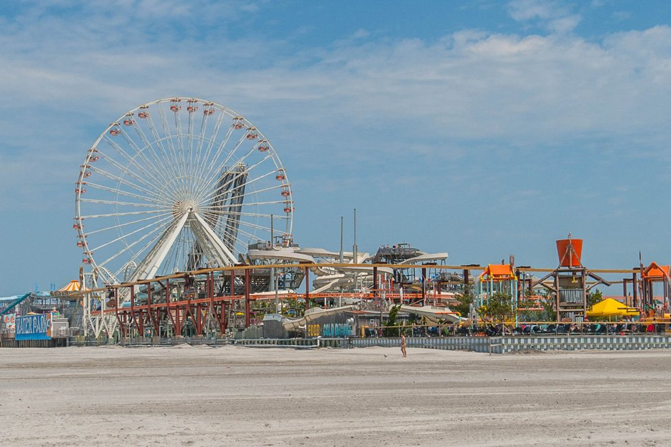 ferris wheel and rides in wildwood nj