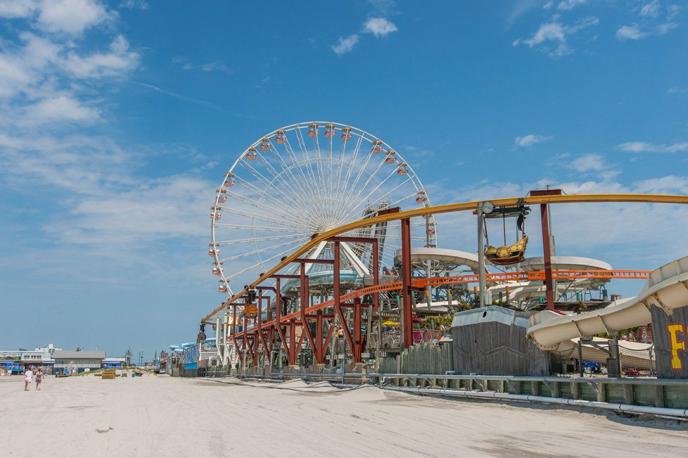 ferris wheel and rides wildwood nj