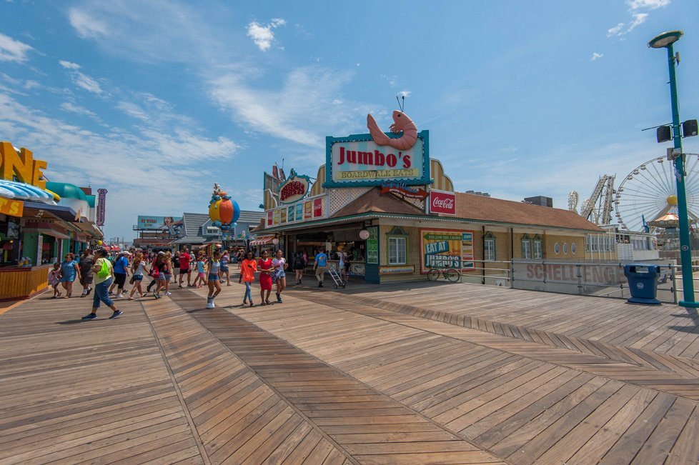jumbo's seafood in wildwood nj