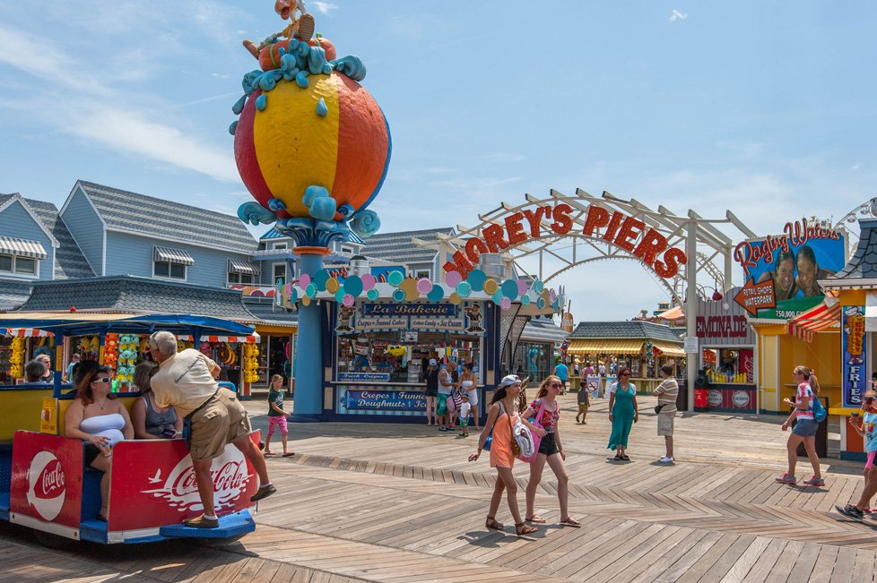 morey's piers in wildwood nj