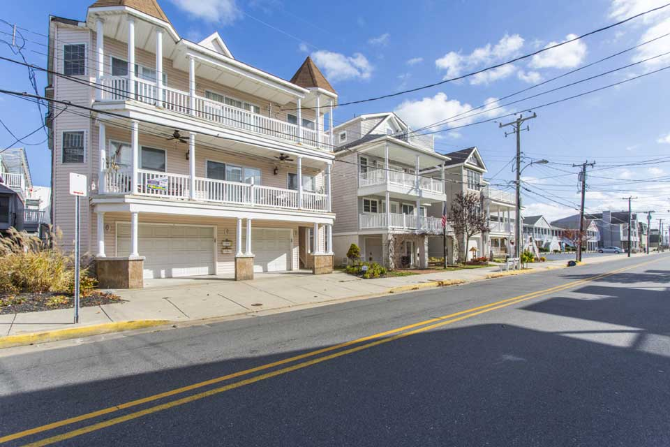 Beach houses in Ocean City, NJ