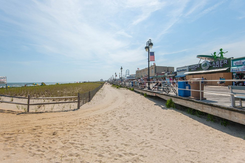 beach and boardwalk ocean city nj