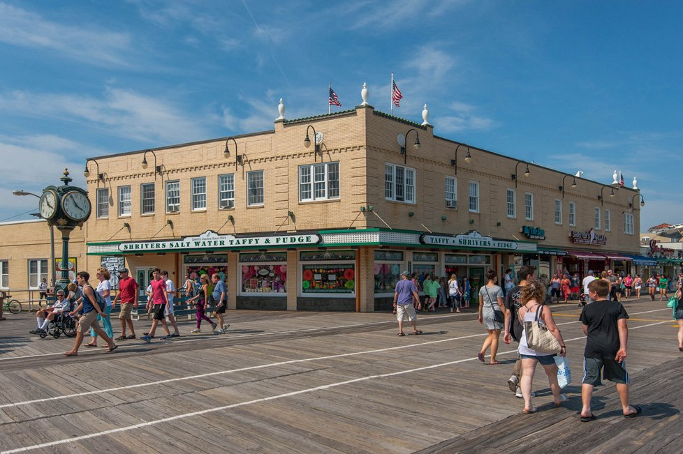 shrivers salt water taffy and fudge ocean city nj