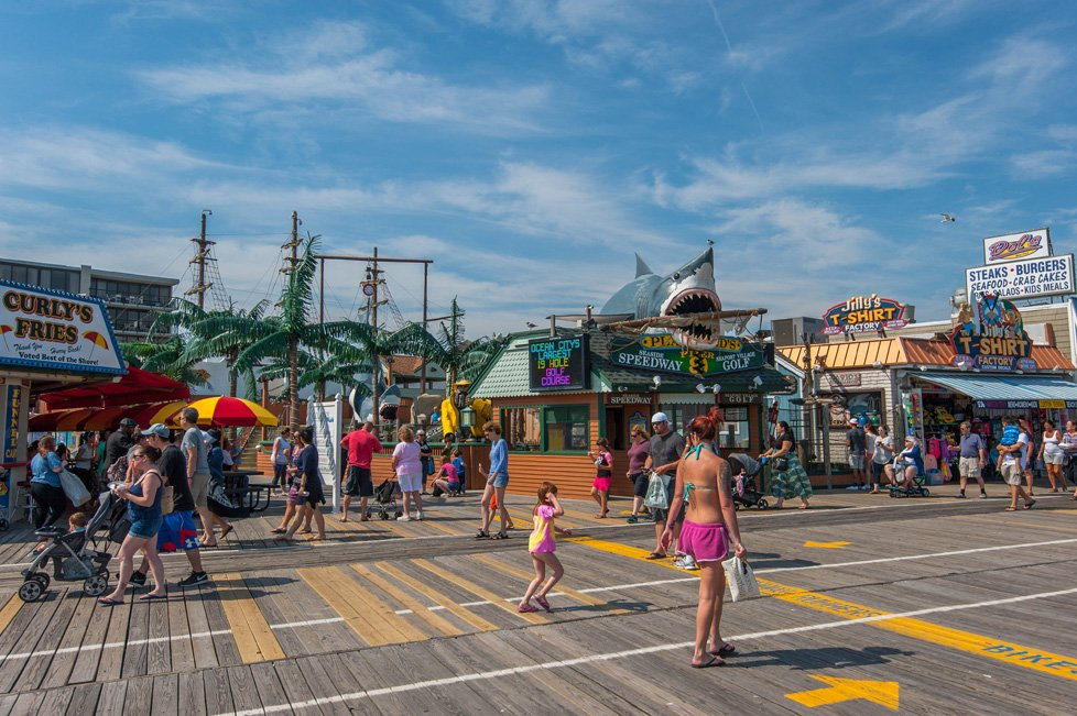 mini golf boardwalk ocean city nj