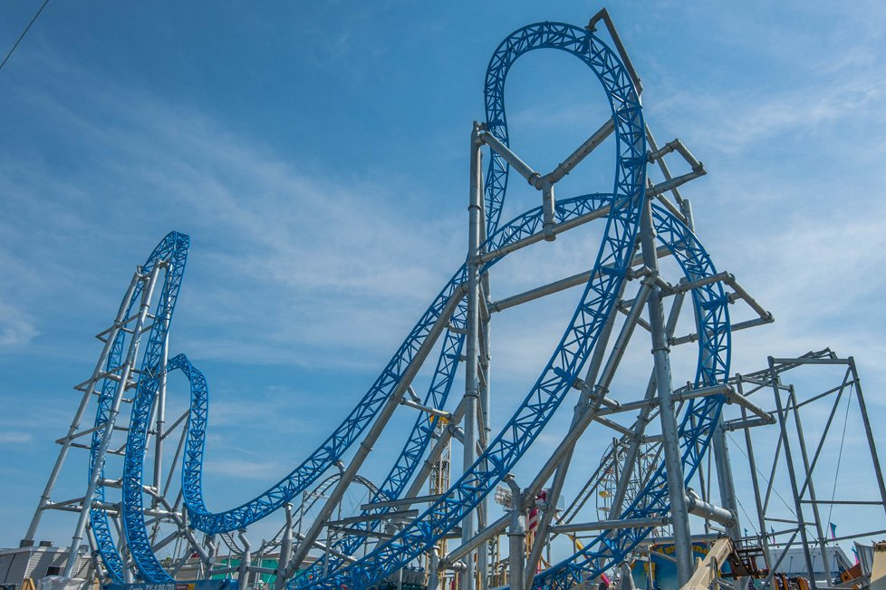 roller coaster ocean city nj