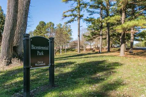 Bicentennial Park in Williamsburg, VA