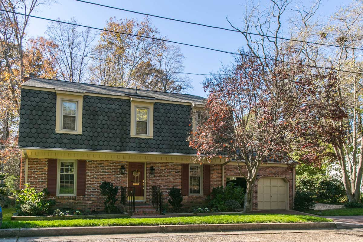 Split-level home in Williamsburg, VA