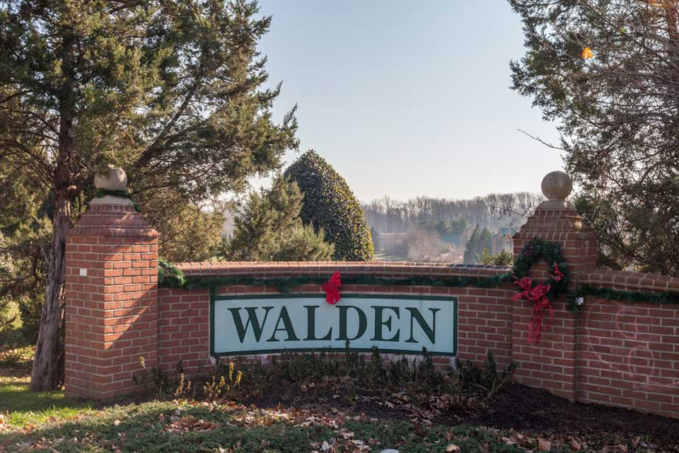Walden neighborhood in Crofton, MD