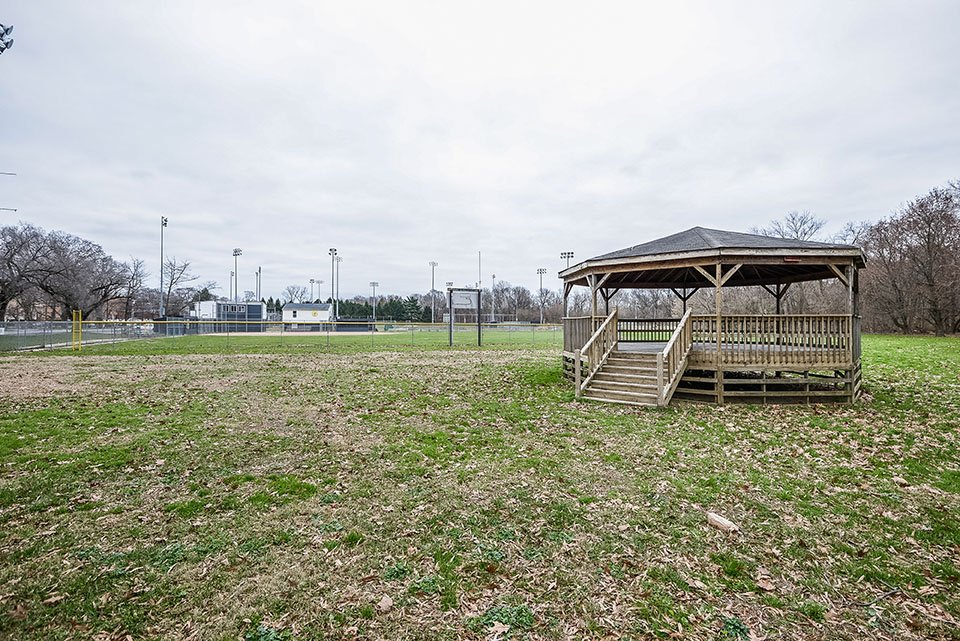 Gazebo in sport field in Elkton, MD