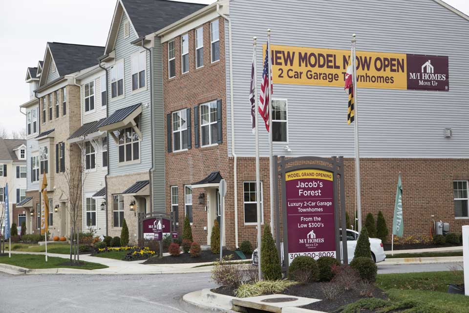 Usa Maryland Catonsville Street Outdoor Fort Meade New Townhome  Neighborhood In Fort Meade, MD