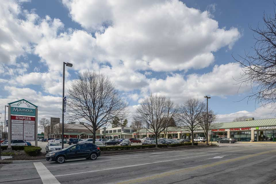 Manoa shopping center in Havertown, PA