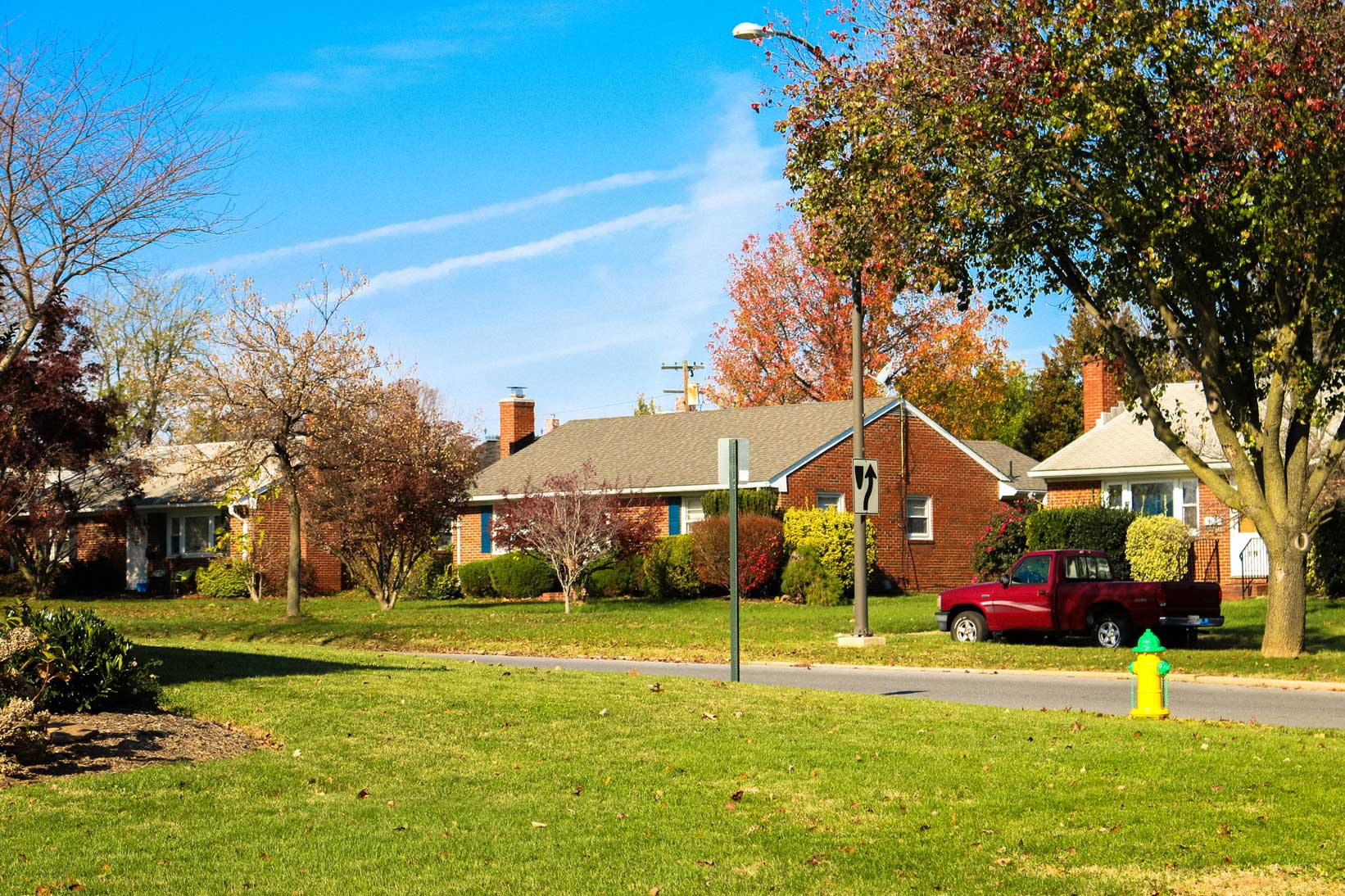 Residential neighborhood in Frederick, MD
