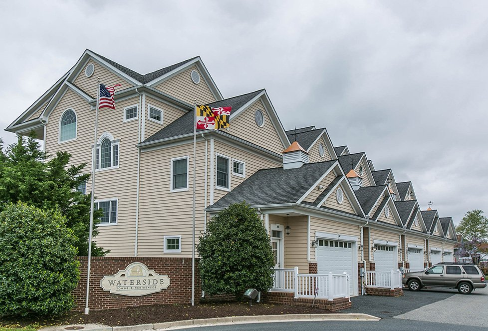 waterside apartments in cambridge md
