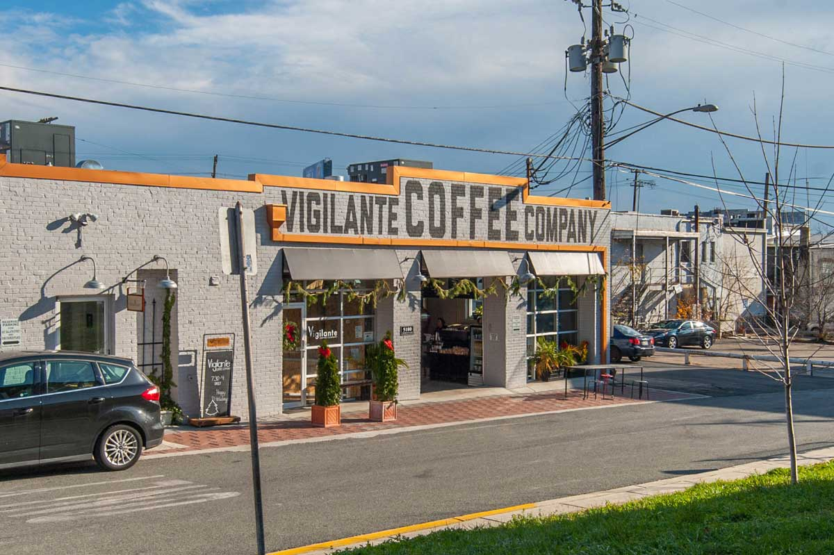 Vigilante Coffee Company in Hyattsville, Md