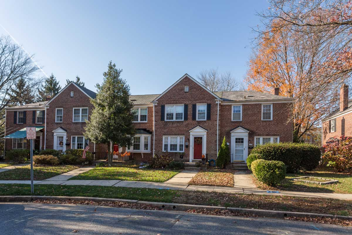 Townhomes in Towson, MD