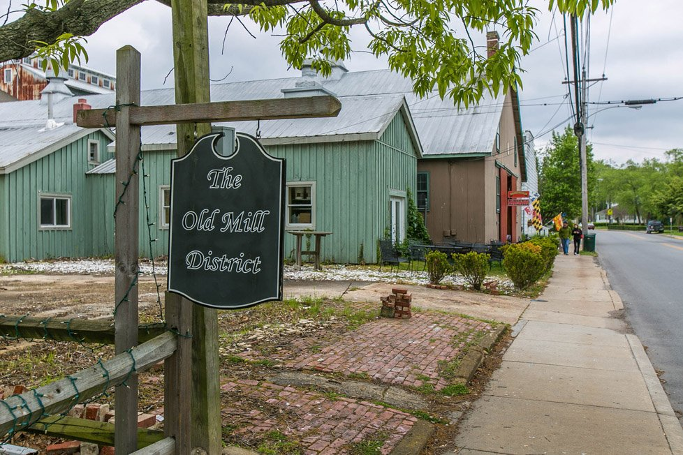 Old Mill District in Saint Michaels MD