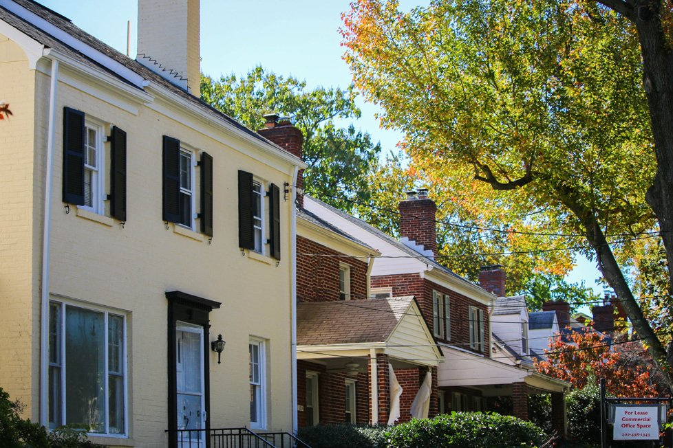 homes in friendship heights washington dc