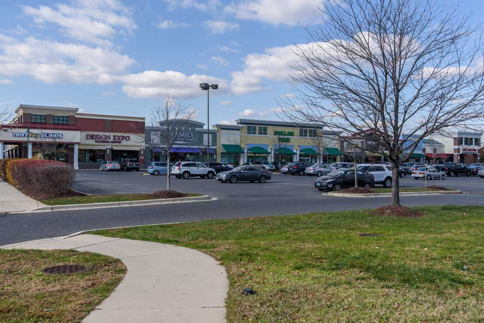Shopping center in Bowie, MD