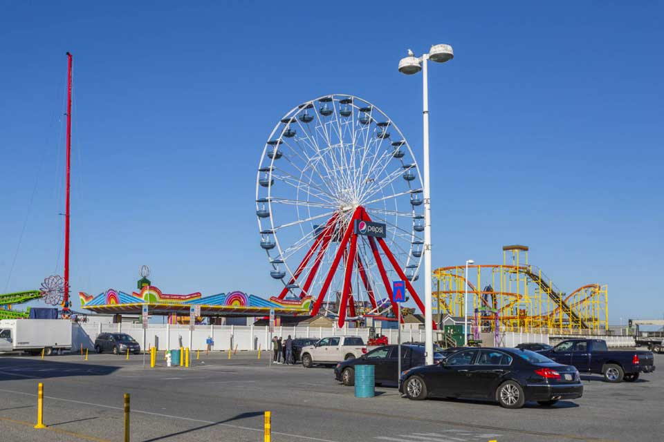 Ferris Wheel in Ocean City, MD