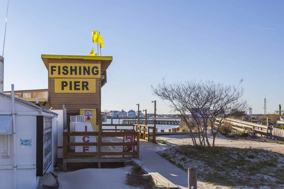 Fishing Pier in Ocean City, MD