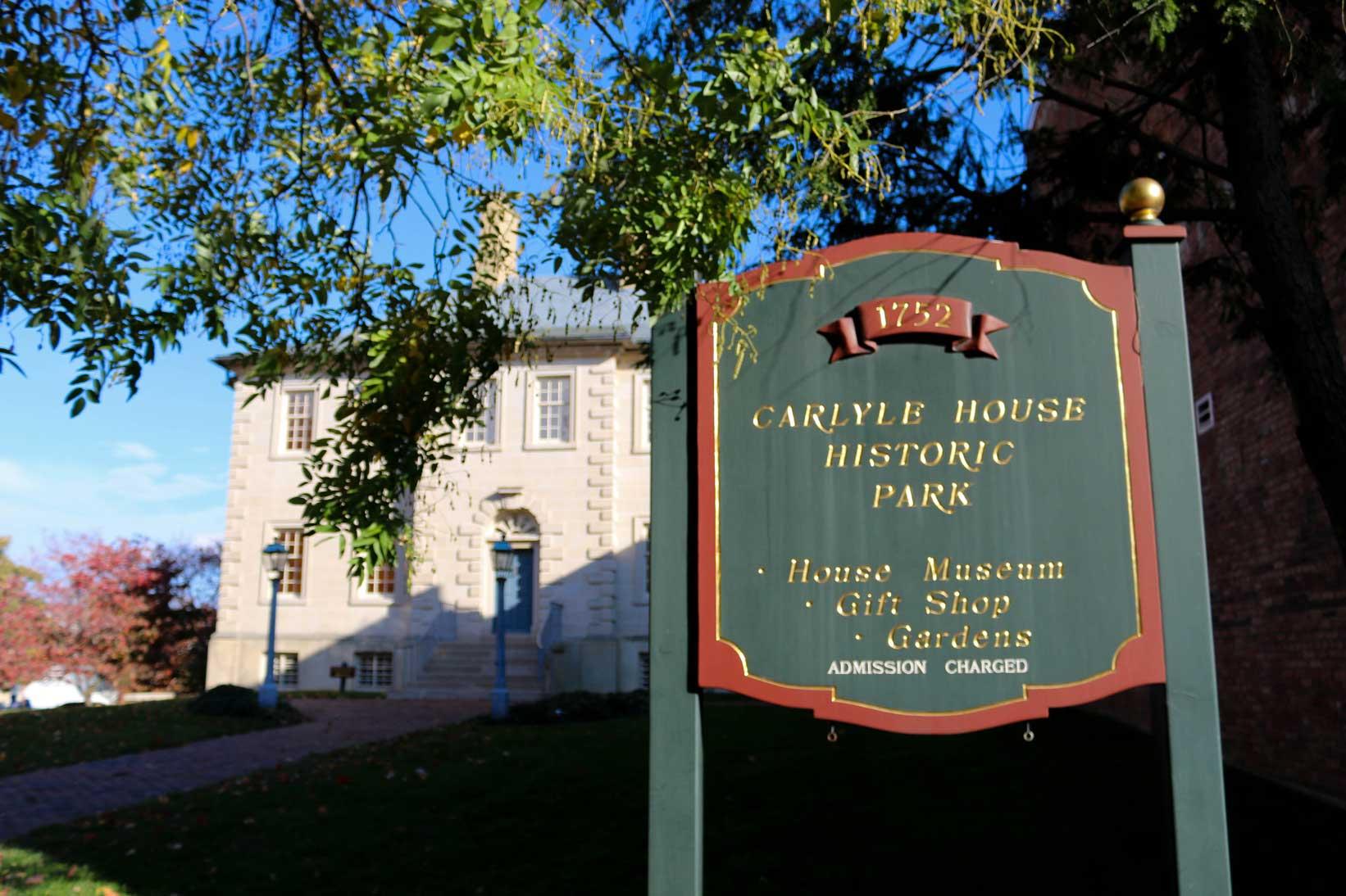 Carlyle House Historic Park Alexandria Va