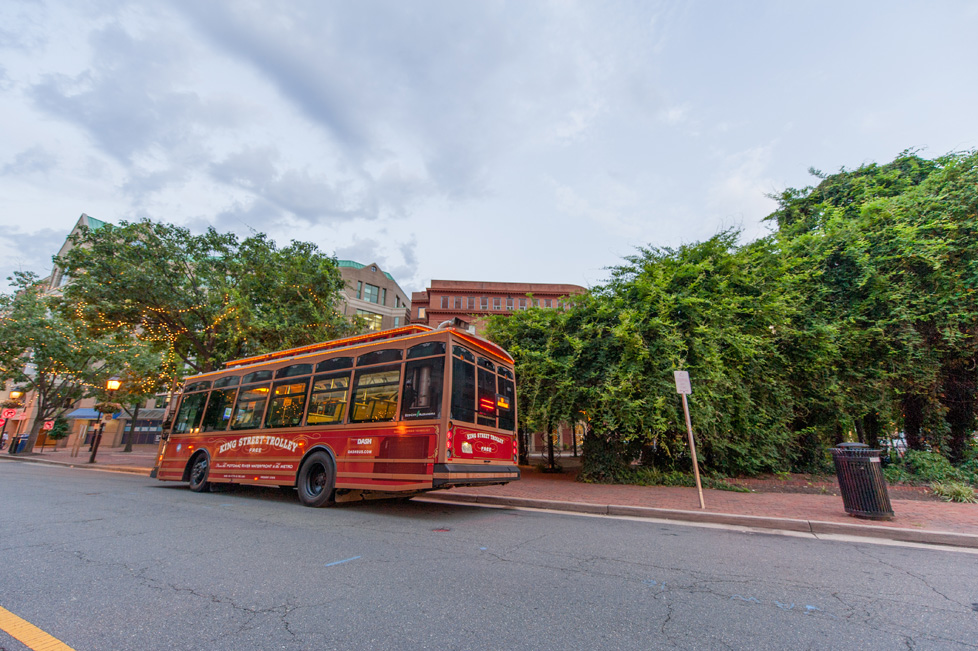 Alexandria, VA Trolley Car