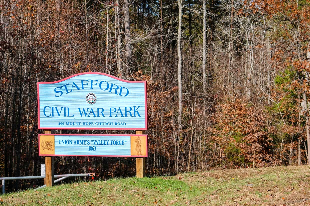stafford va civil war park