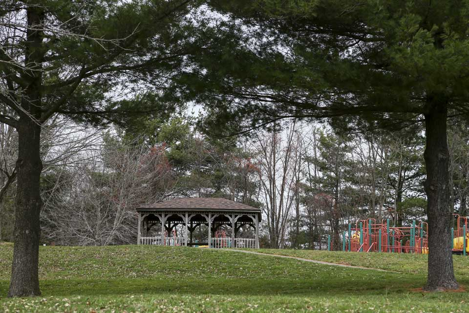 Park with gazebo in Mount Airy, MD