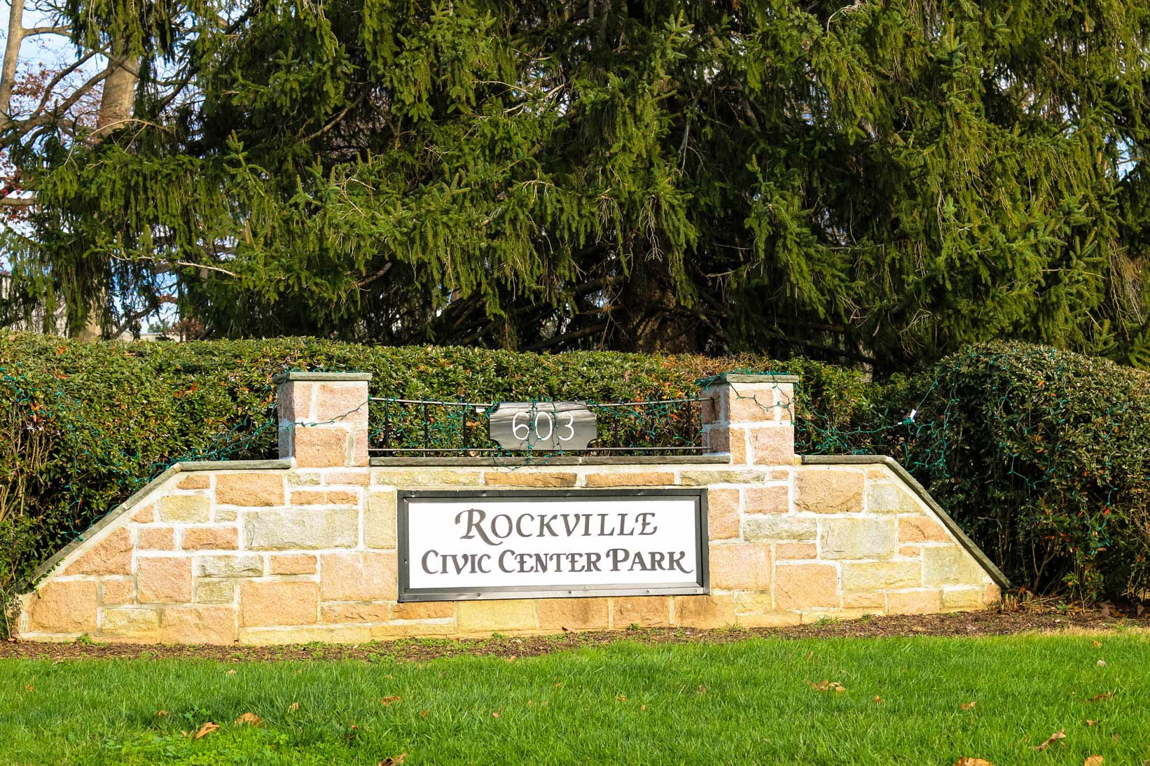 Rockville Civic Center Park in Rockville, MD